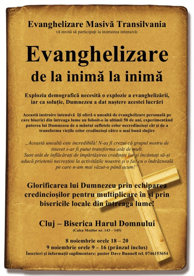 Cluj Harul Domnului 8-9 Nov
