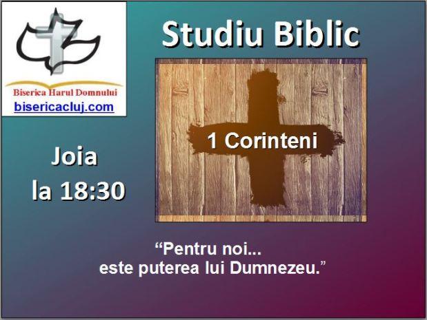 1 Corinthians ad
