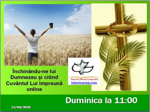 Adpic for Palm Sunday online
